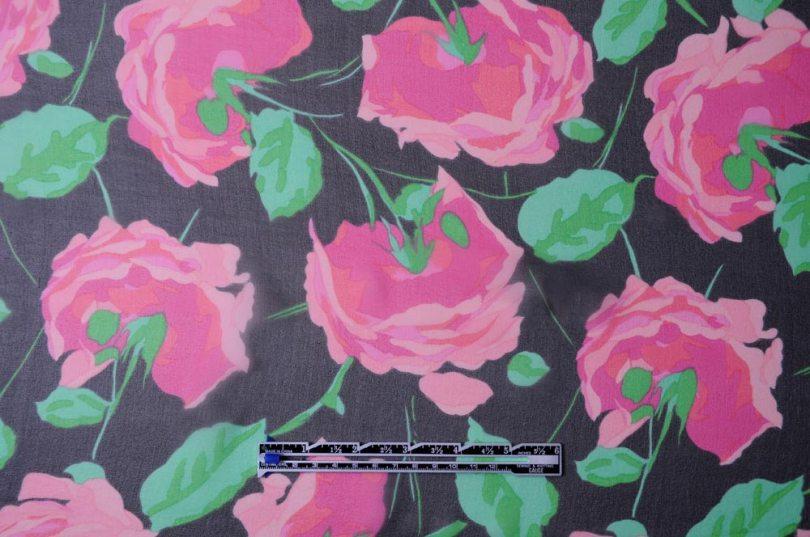 floral silk