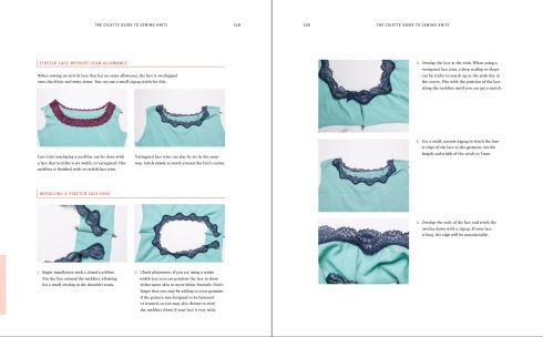 lace neckline