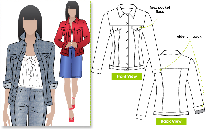 Attractive Jeans Sewing Patterns Composition - Knitting Pattern ...